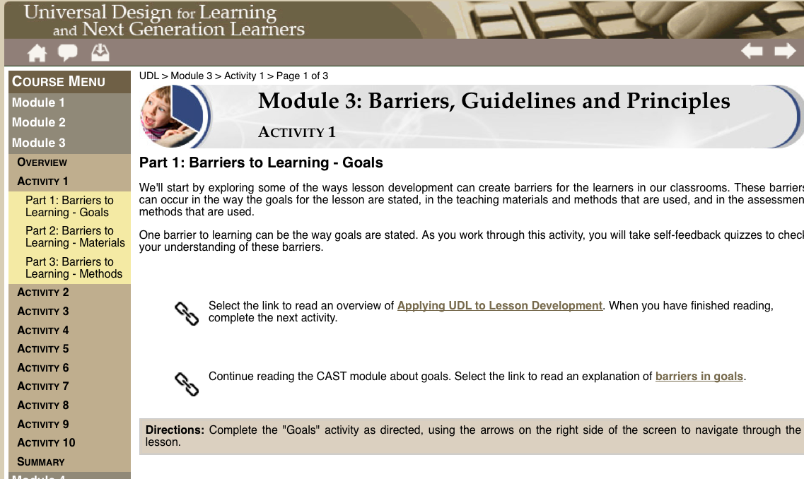 barriers to learning and development