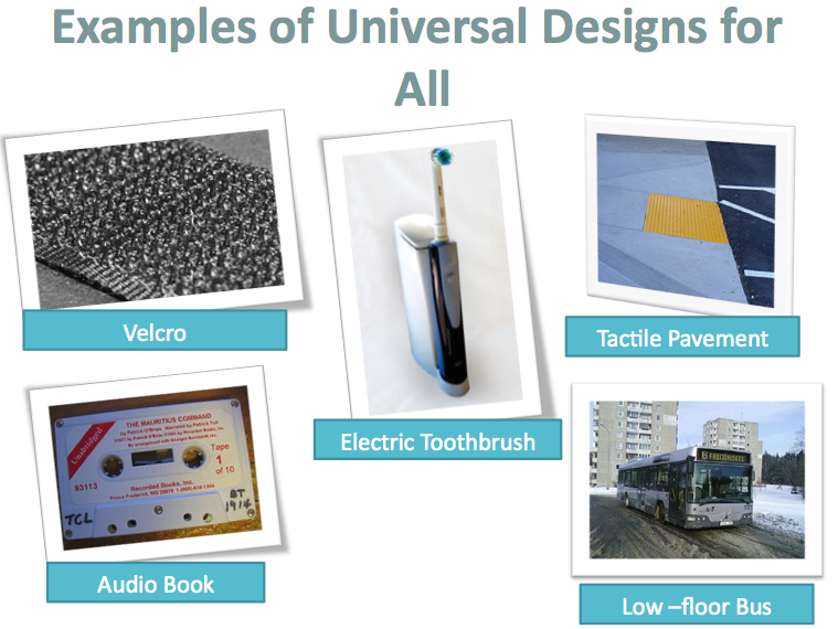 Universal Design Classroom Examples : Historical foundations universal design for learning in