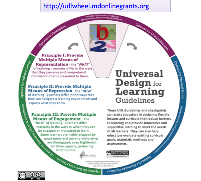 what are the udl guidelines universal design for learning in hcpss